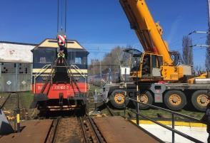 Depo ŽSR vykolejení vlaku