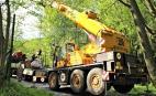 Autožeriav Demag AC40  Autožeriav Demag AC25  Autožeriav Demag AC60/70  Autožeriav Liebherr LTM1025  Autožeriav Liebherr LTM1030/2